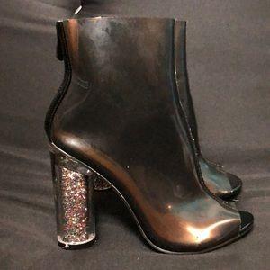 Cape Robbin clear boot heels